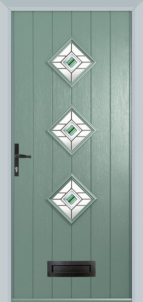 Flint Chartwell Green With Frame Black